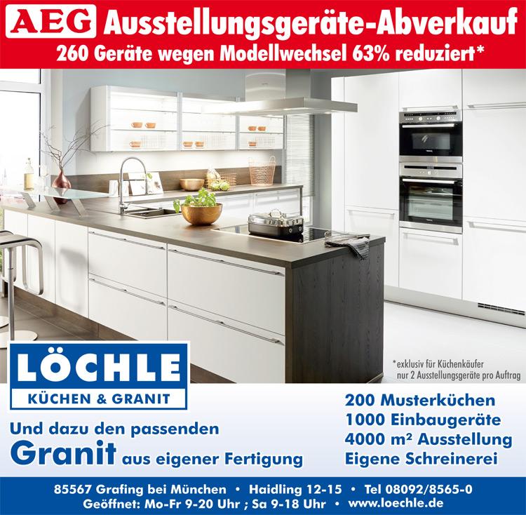 Ausstellungsküchen münchen  LÖCHLE Küchenzentrum - Grafing bei München - Impressum